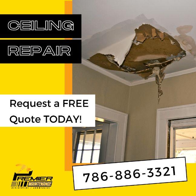 Ceiling repair miami